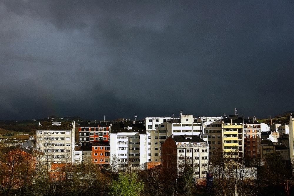 Nubes amenazantes