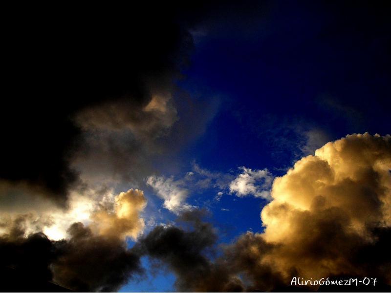 Nubes de abril