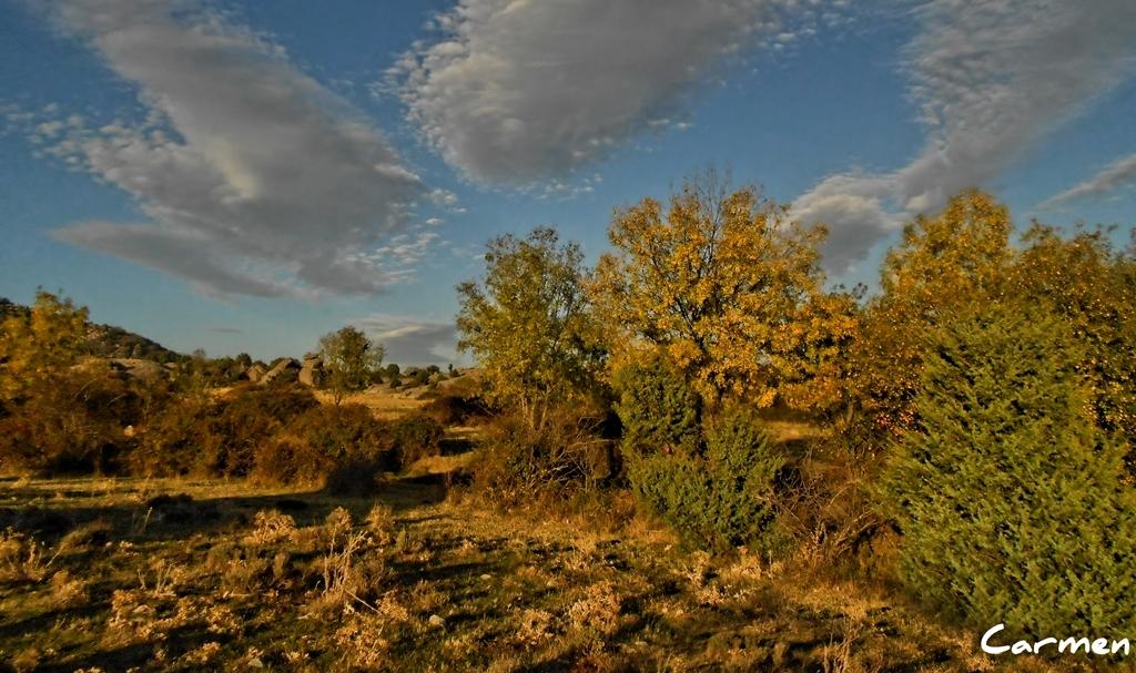 Nubes de otoño