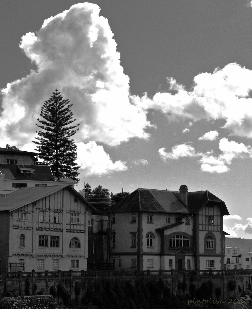 Nubes en Valparaíso
