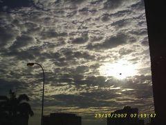nubes radiantes..!