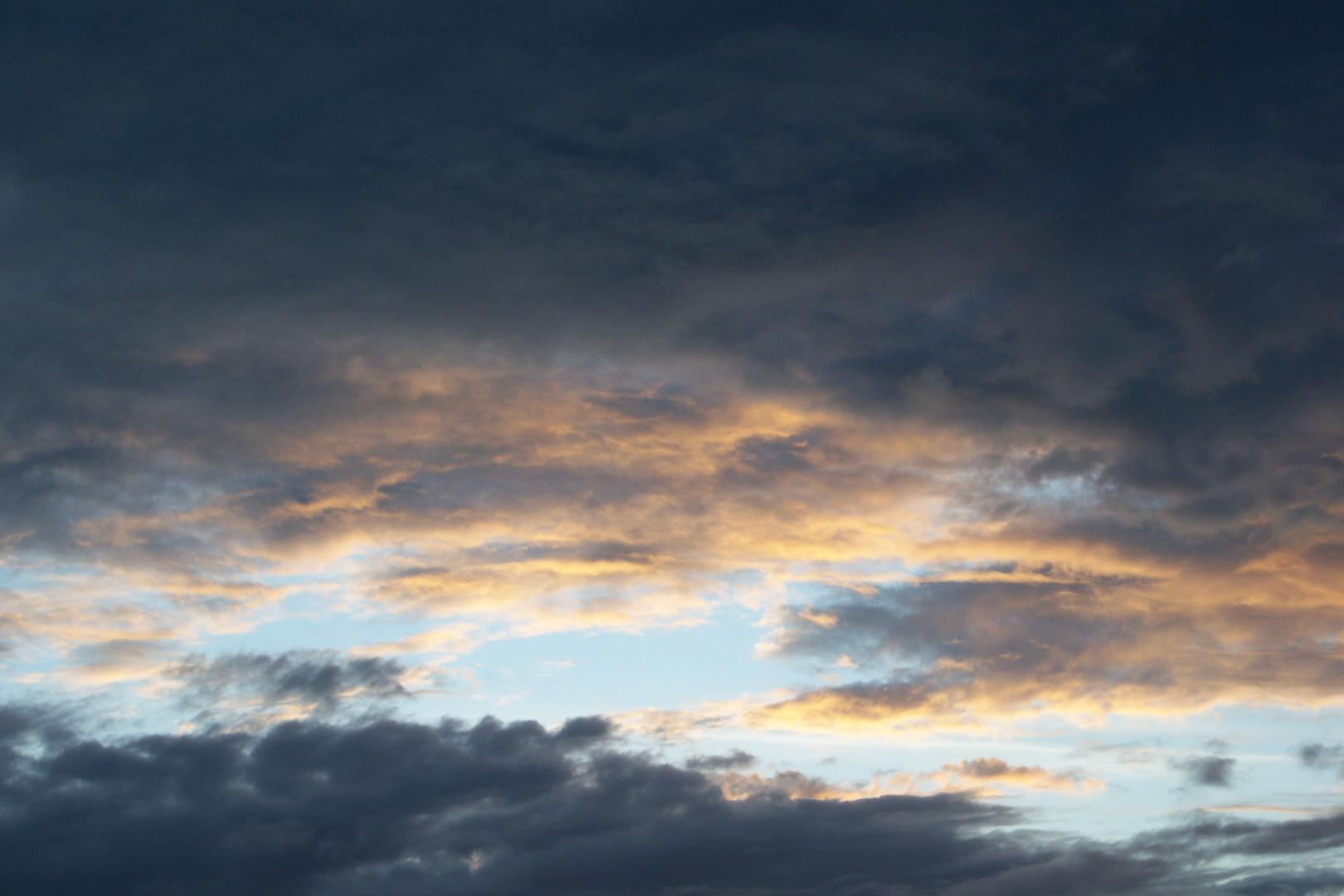 Nubes tormentosas