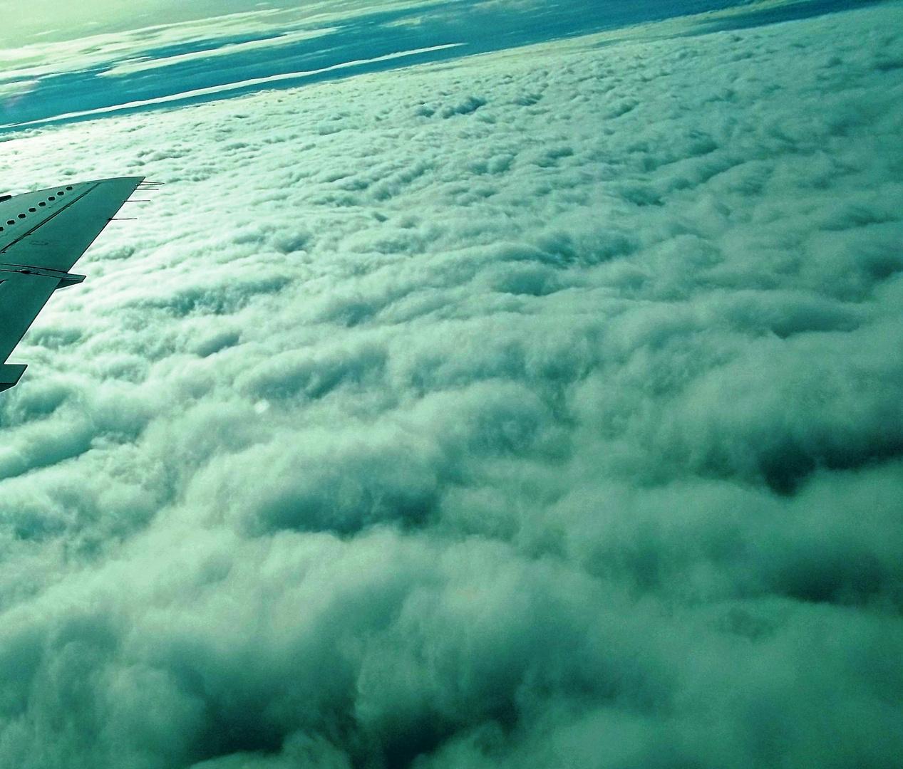 nubes vistas desde arriba...........