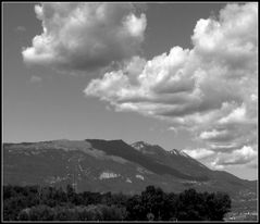 Nubi sul Baldo...
