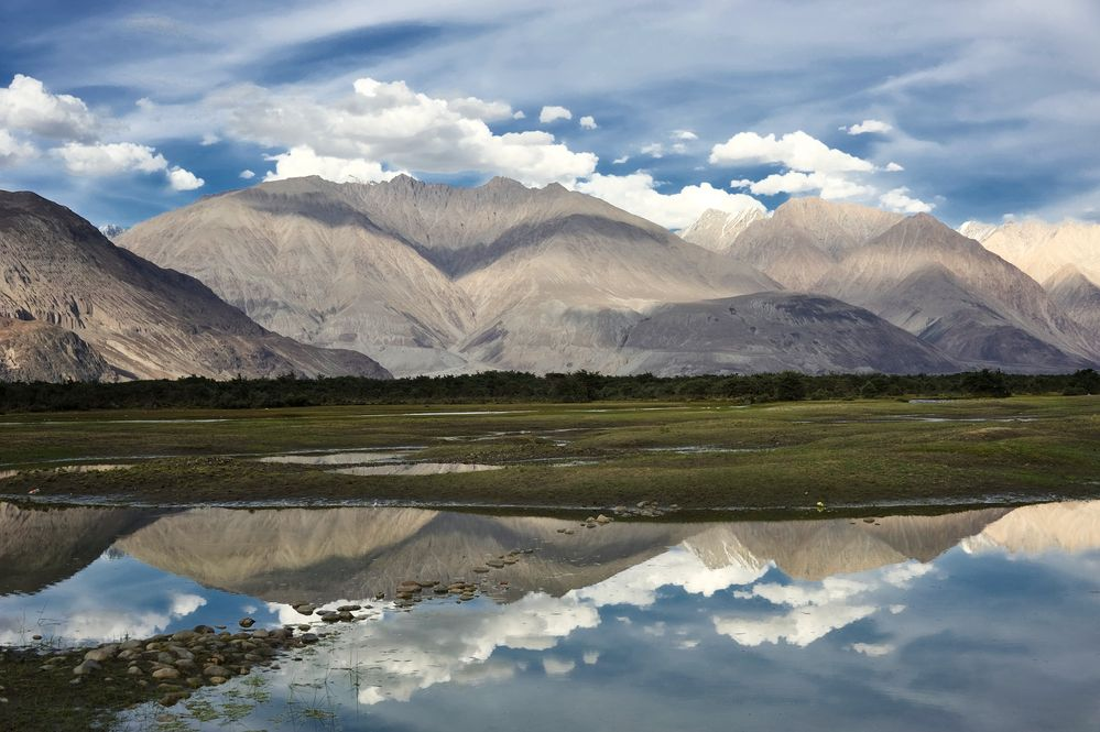 Nubra-Tal / Himalaja Region von Senegrom