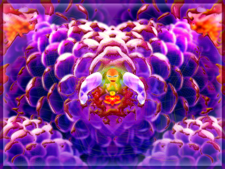 nuclear verseuchte Blume
