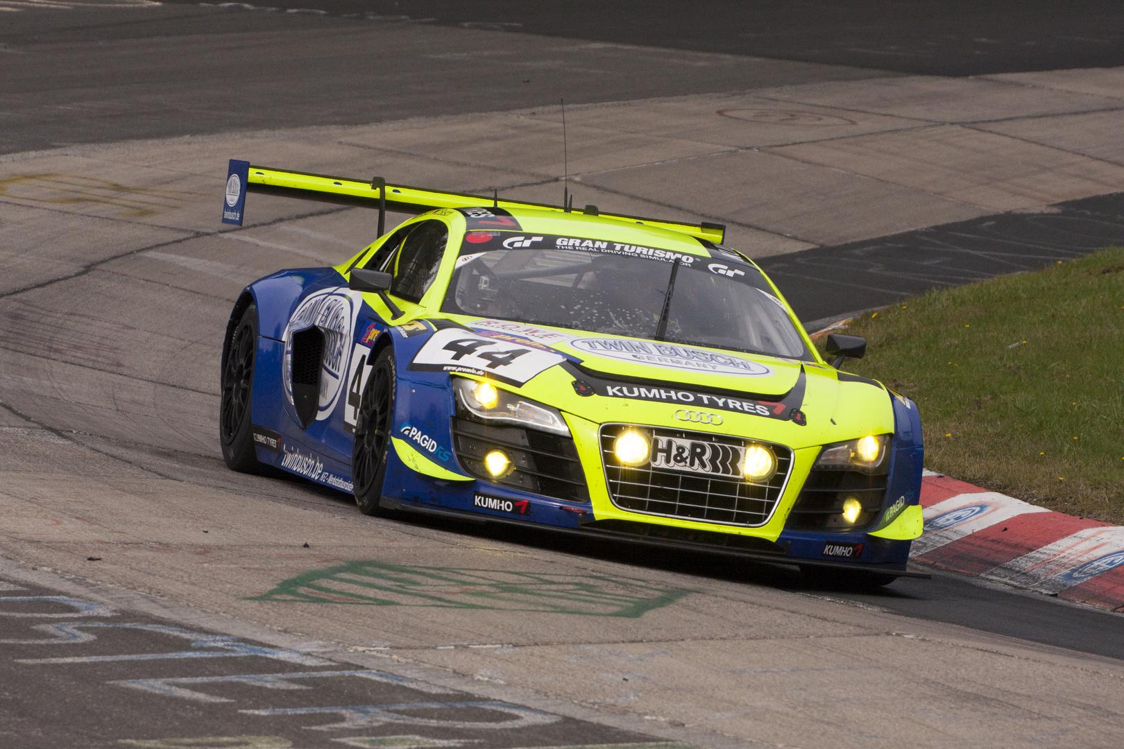 Nürburgring VLN 28.09.2013 - Audi R8 LMS ultra