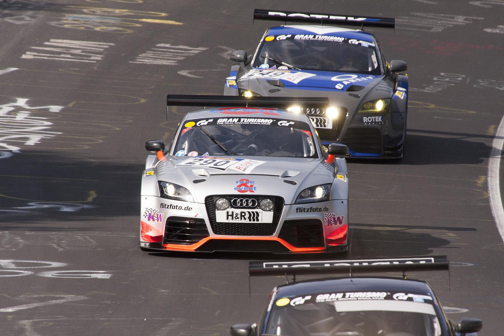 Nürburgring VLN 28.09.2013 - Audi TT RS 2.0