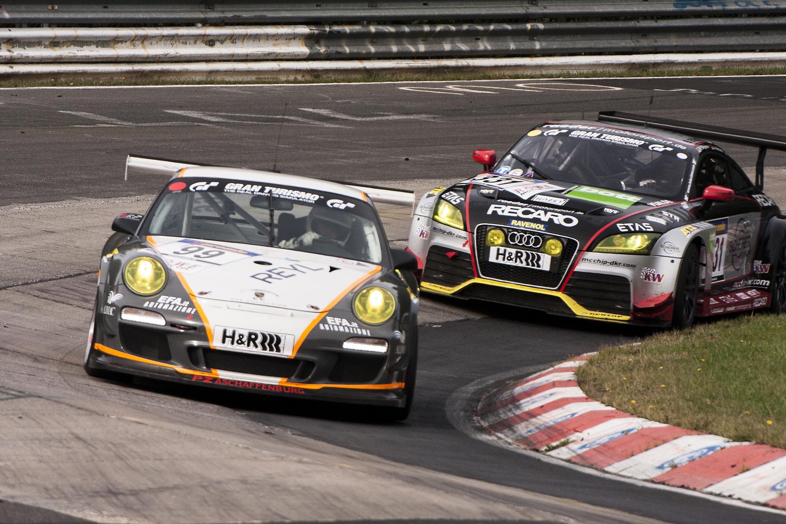 Nürburgring VLN 28.09.2013 - Porsche 911 GT3 Cup