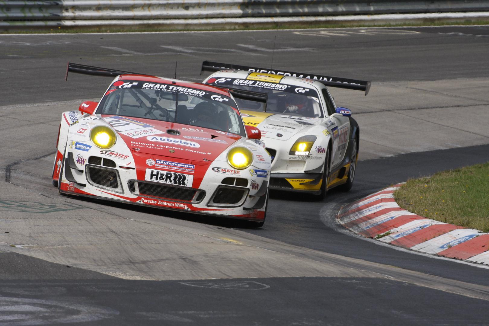 Nürburgring VLN 28.09.2013 - Porsche 911 GT3 R (1)