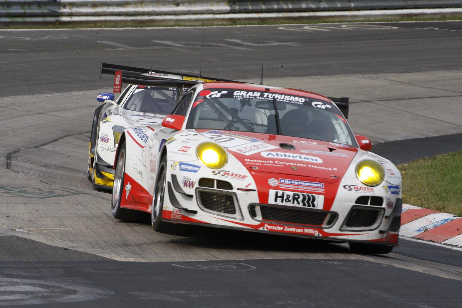 Nürburgring VLN 28.09.2013 - Porsche 911 GT3 R (2)