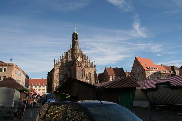 Nürnberg, Am Hauptmarkt