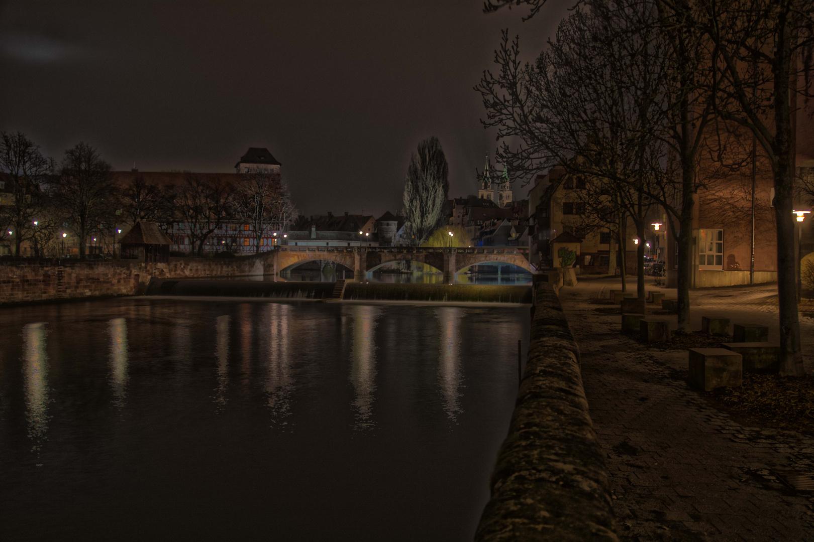 Nürnberg beim Kettensteg
