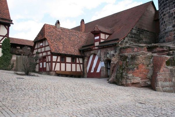 Nürnberg - Der Burginnenhof