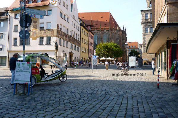 Nürnberg: Die Stadt, in der ich lebe