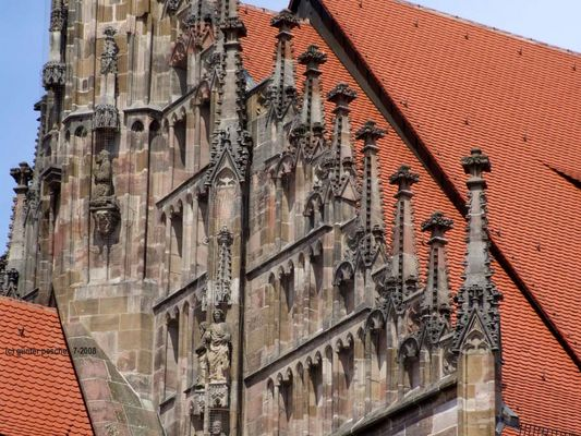 Nürnberg: Frauenkirche (Detail)