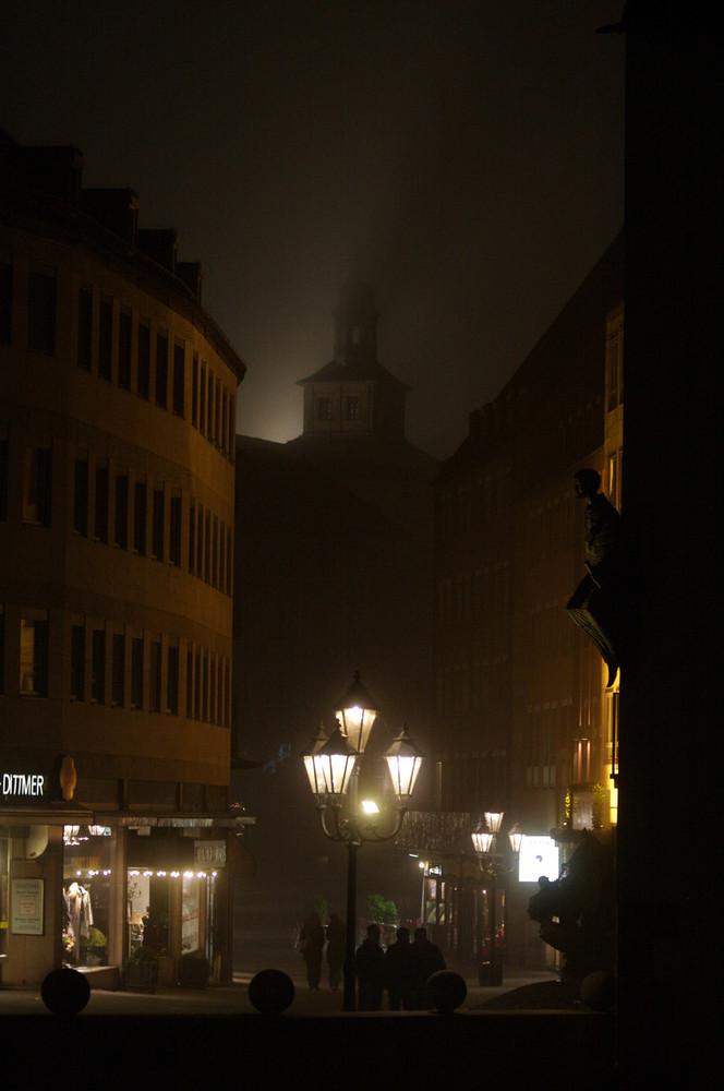Nürnberg im Nebel