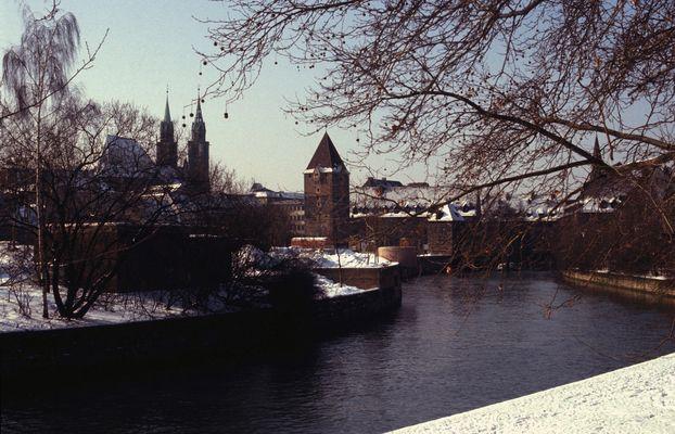 Nürnberg im Winter