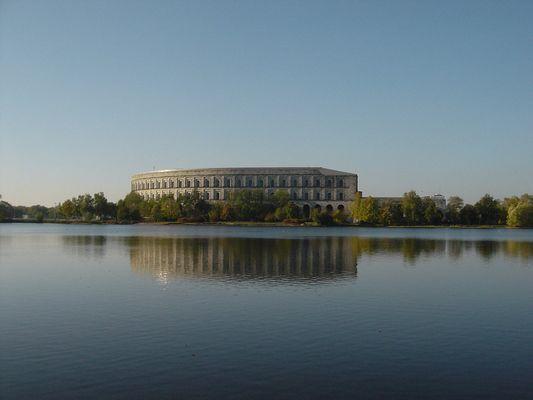 Nürnberg - Kongreßhalle - Reichsparteitagsgelände