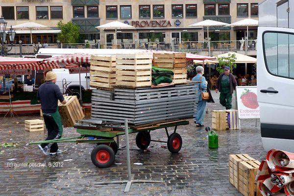 Nürnberg: Markt (Feierabend)