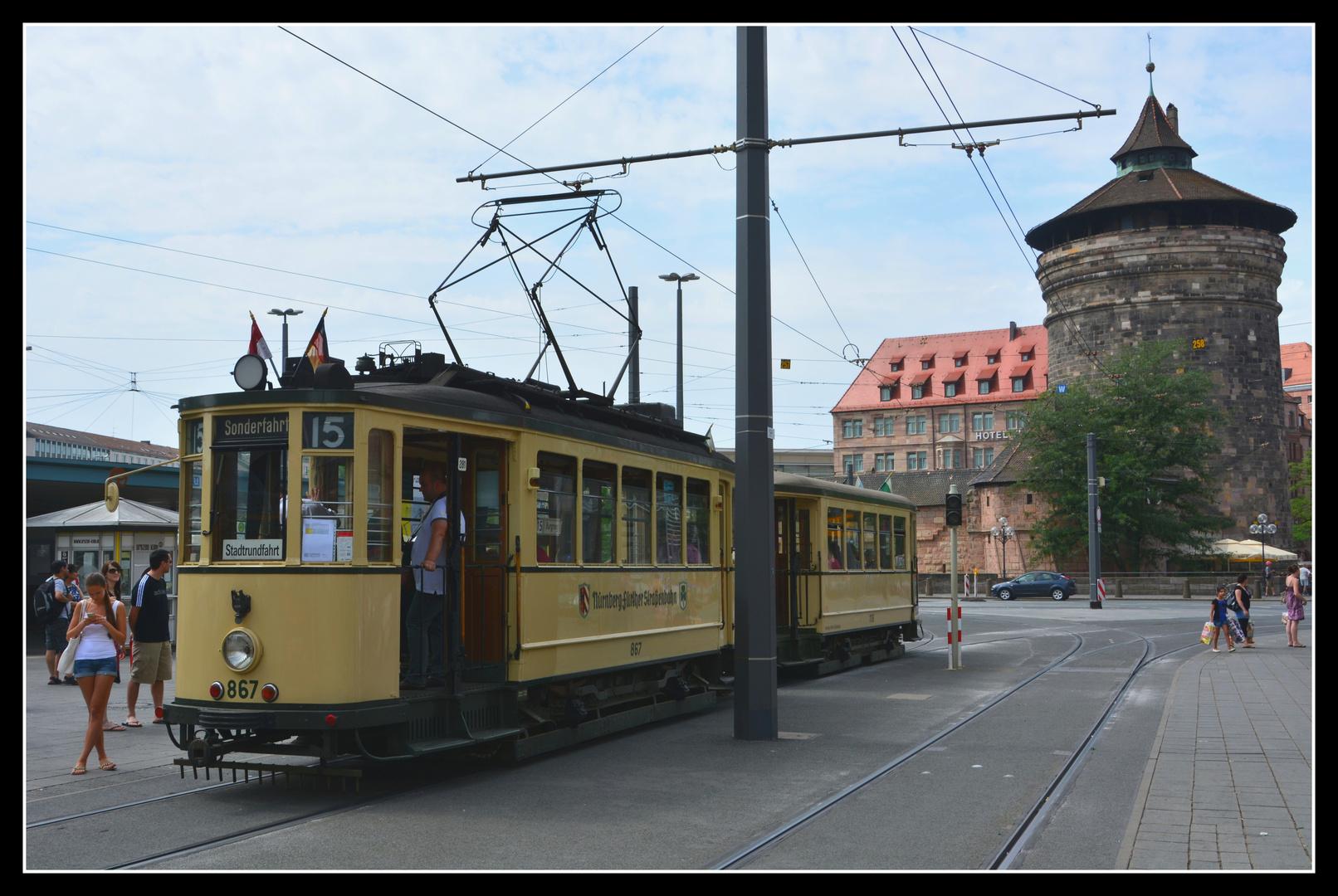 Nürnberg Museumsstraßenbahn