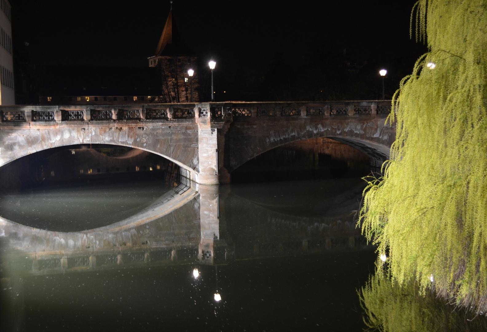 Nürnberg Nachtaufnahme