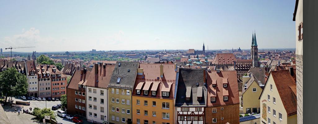 Nürnberg - Panorama