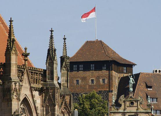 Nürnberg zeigt Flagge