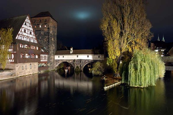 Nürnberger Altstadt - Auf der Maxbrücke