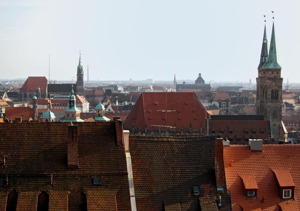 Nürnberger Dachlandschaften (2)