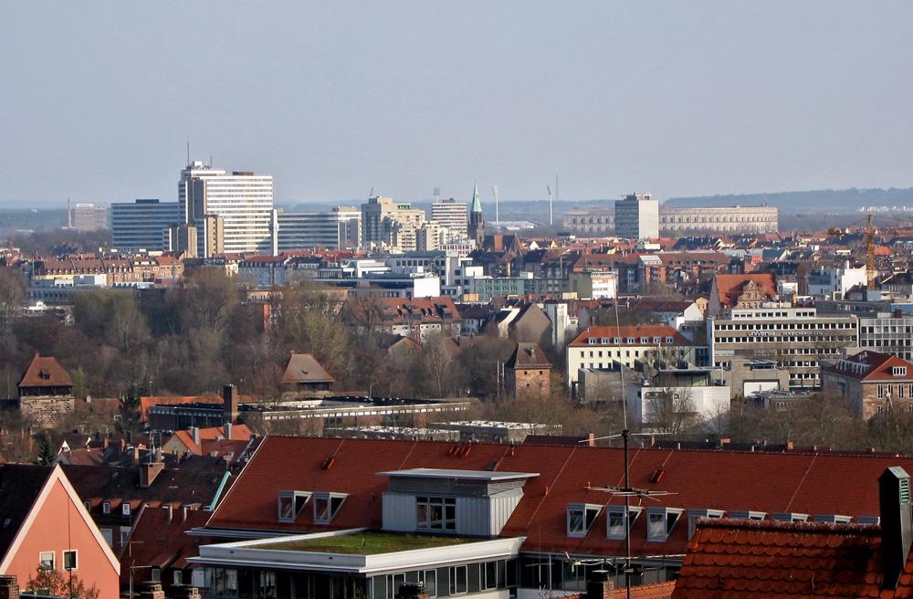 Nürnberger Dachlandschaften (3)