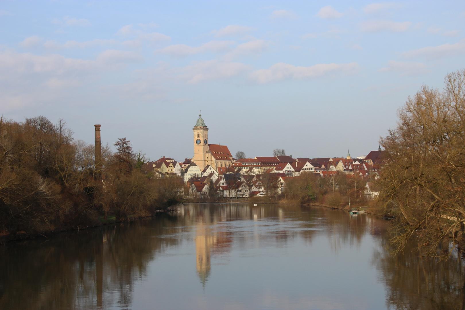 Nürtingen - Blick auf die Kirche