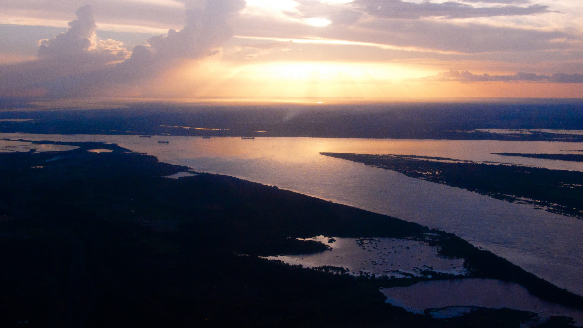 Nuestro Río Orinoco, Pto Ordaz Edo. Bolívar Venezuela.