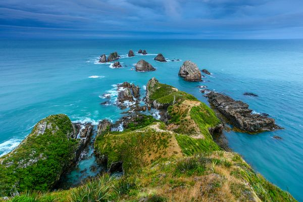 Nugget Point Neuseeland