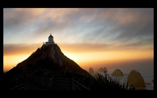 Nugget Point - The Lighthouse, New Zealand