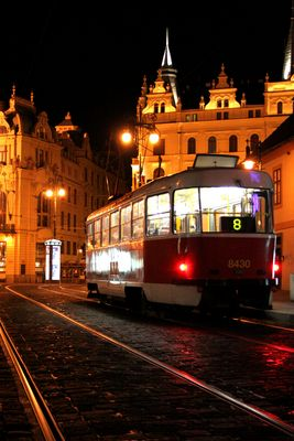 Nuit à Prague
