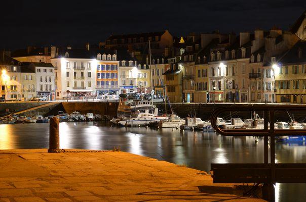 Nuit d'Octobre à Palais (Belle-Ile)