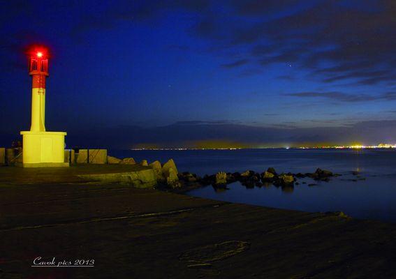 Nuit en bord de mer