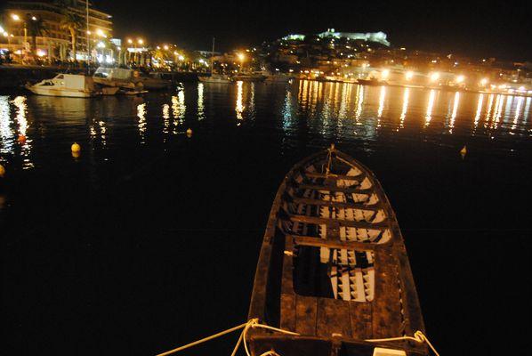 Nuit sur la port