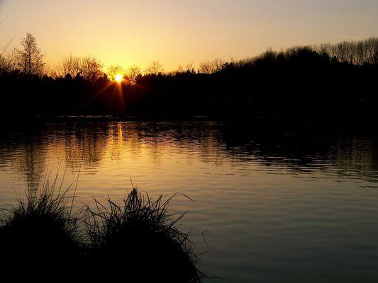 Nuit sur le lac