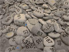 Nummerierte Steine