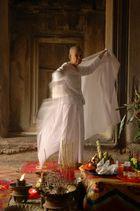 Nun at Angkor