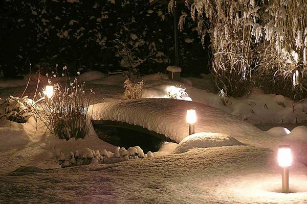 Nun ist der Winter da...