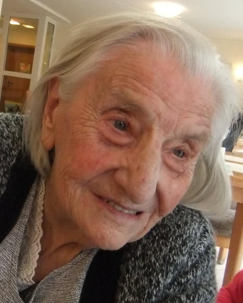 Nun ist sie 101 Jahre alt