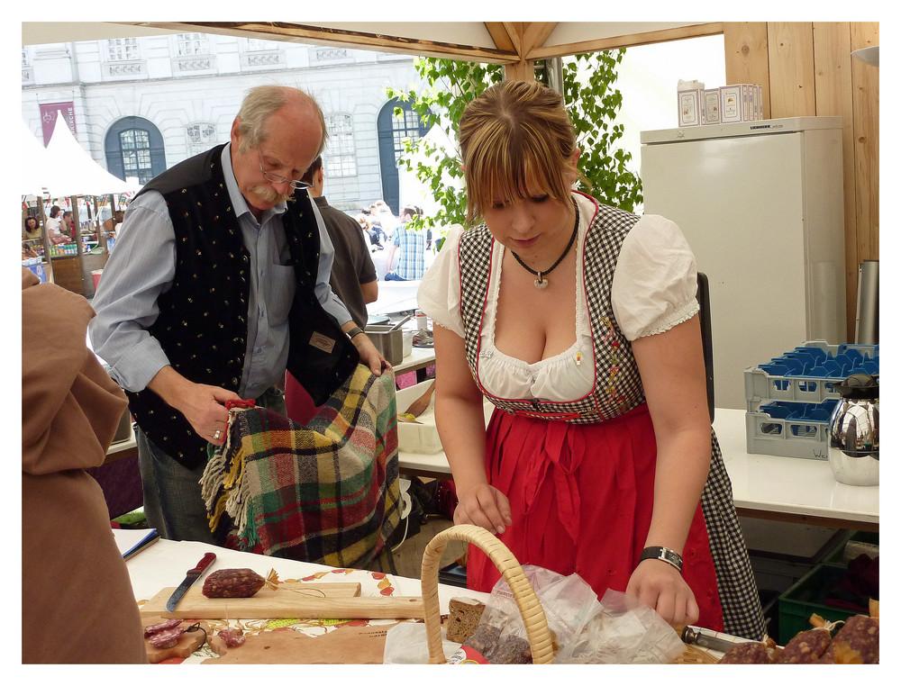 Nun was kulinarisches für die herren (na klar auch die weibliche aussicht!!) ist nicht zu verachten!