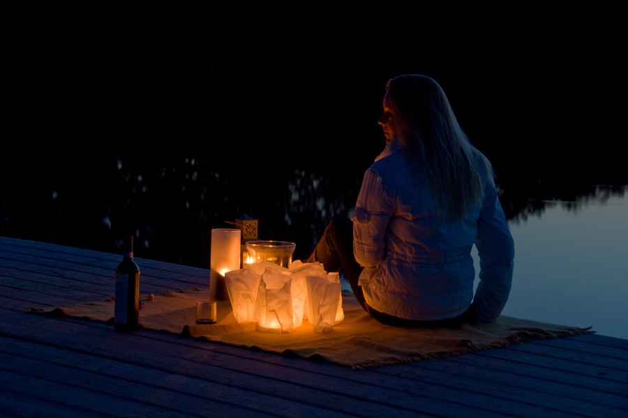 Nun wird es romantisch :-)