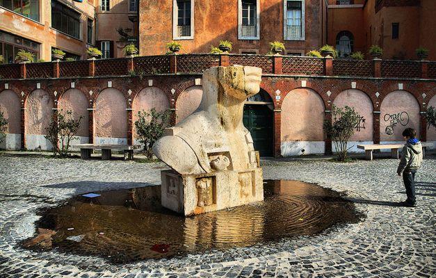 Nuova fontana a Tivoli.