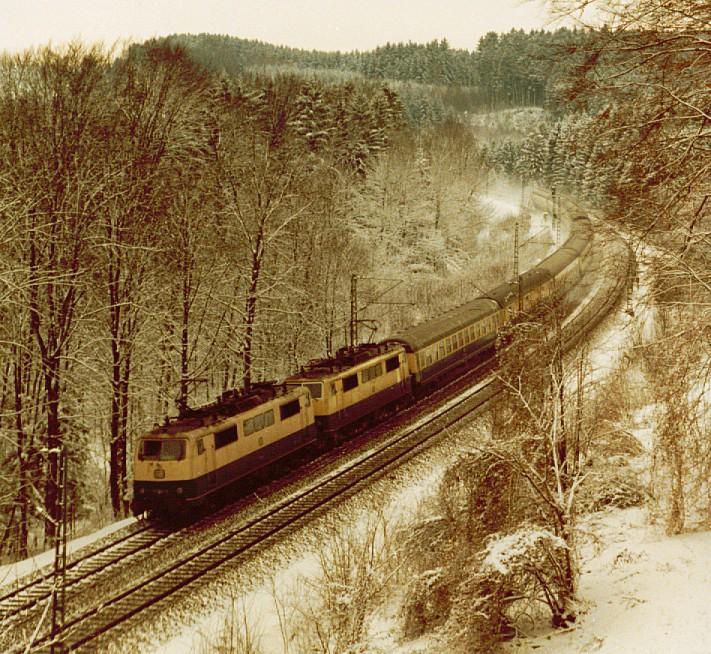 """""""Nur 111"""", Eisendorf, 18.01.1986"""