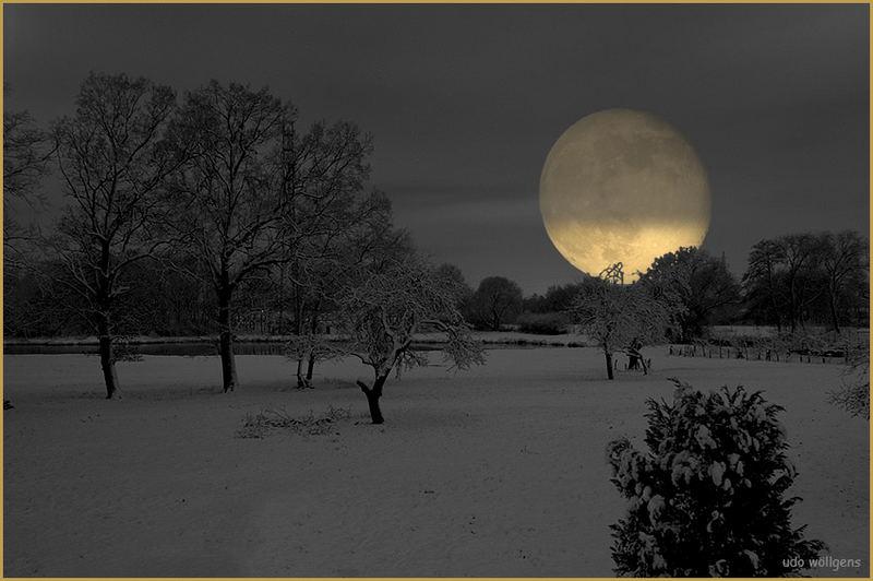 Nur bei Mondlicht...