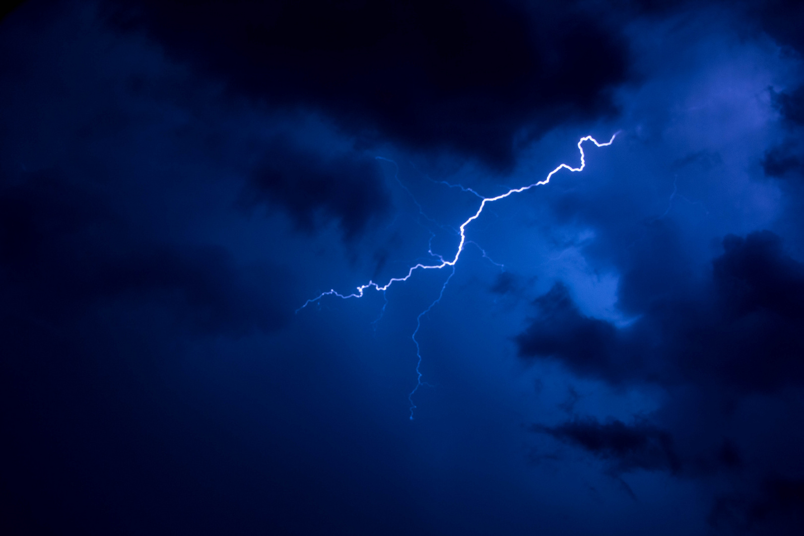 Nur Blitze ...